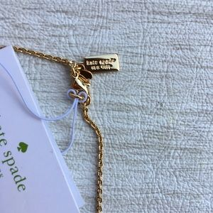 kate spade Jewelry - Kate Spade Moon River Bow Necklace